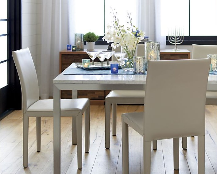 metal dining tables and chairs