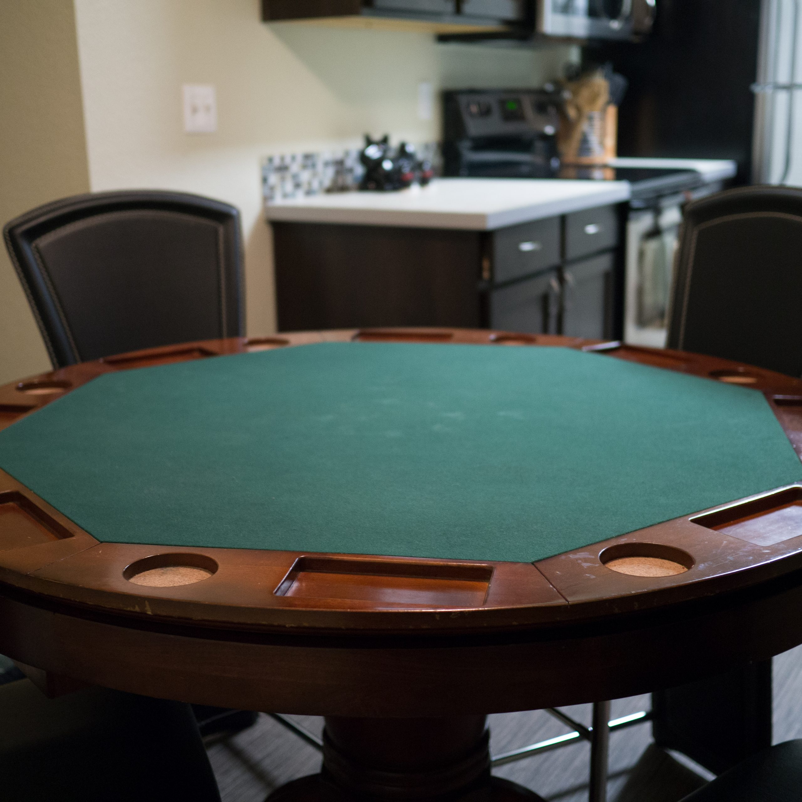 poker table dining table combo