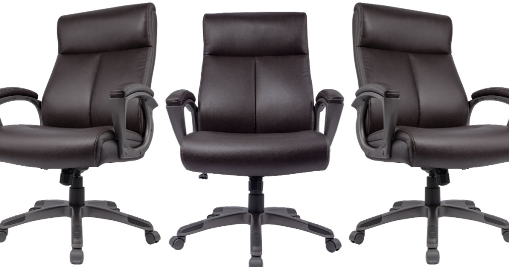 staples brown office chair
