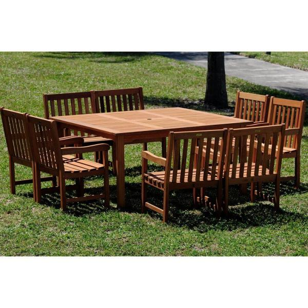 dining tables square 8 seats