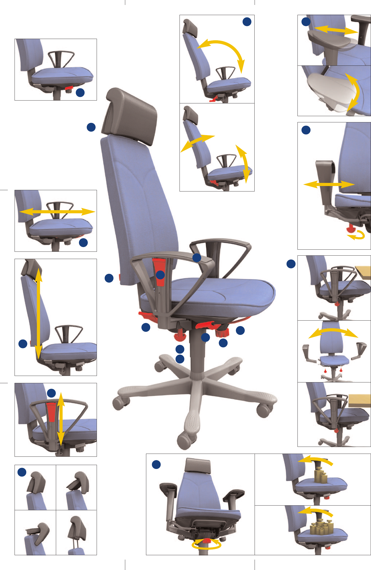 office chair manual