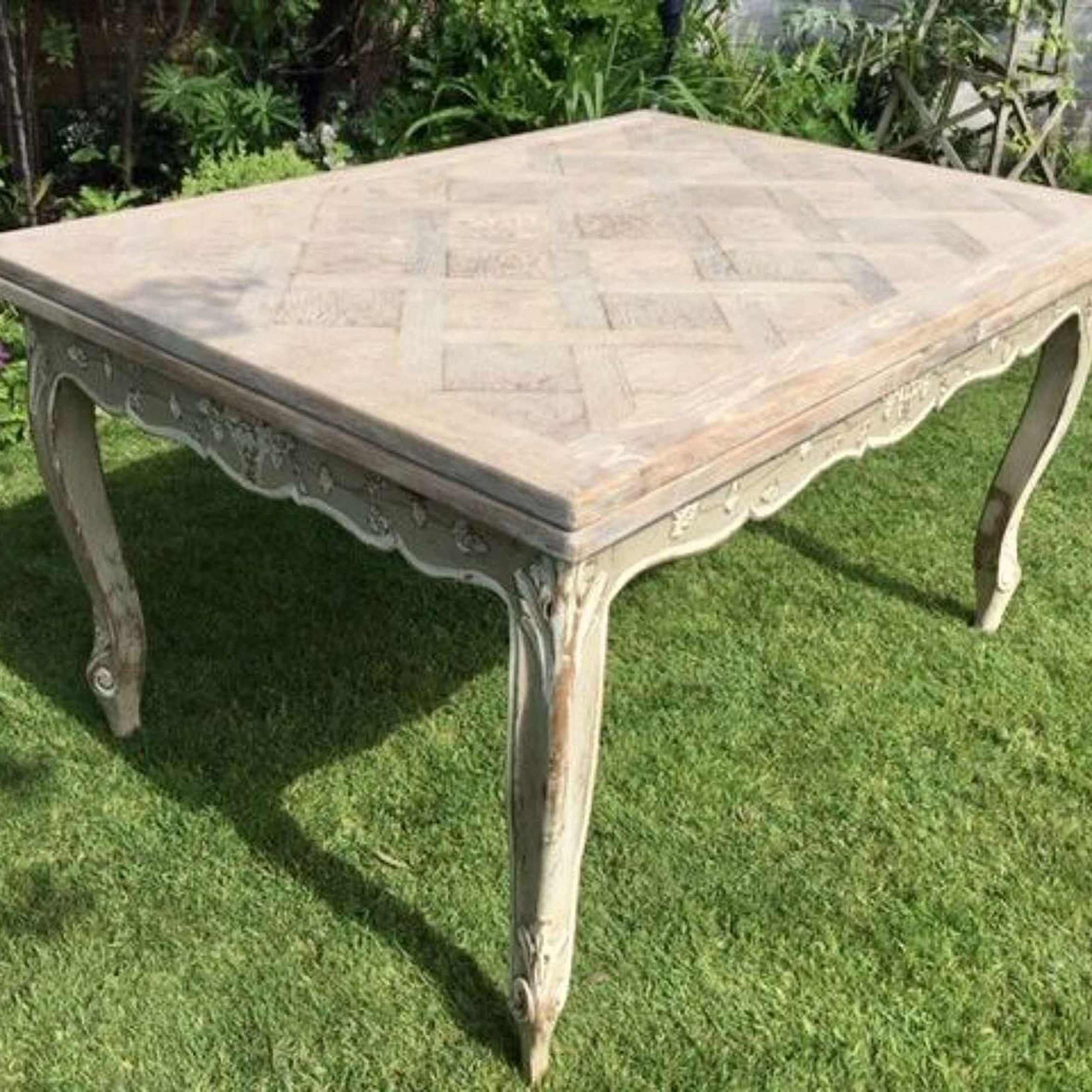 vintage french dining table