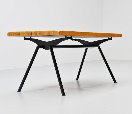 dining table industrial steel base