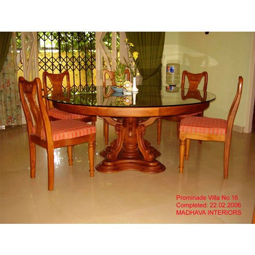 round dining table designs in wood